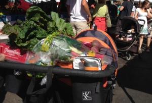 Farmers market stroller