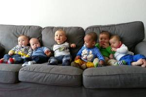 One of bonn baby's first Newborn Groups.