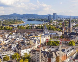 Bonn, Germany, our home for the past two years.