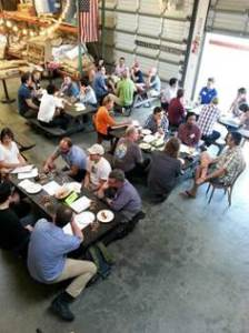 Focus groups with dads at Lantern City Brewing