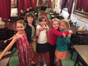 Quinn's PEPS friends at age 7.