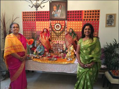 Swarnima and her mom